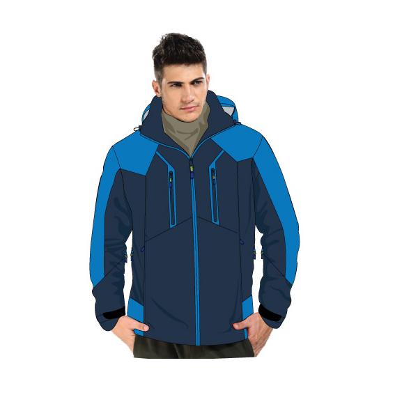 fashion snow jacket